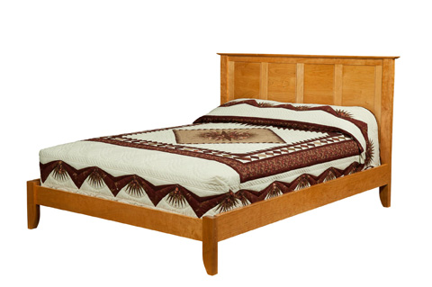 Image of Platform Bed in King