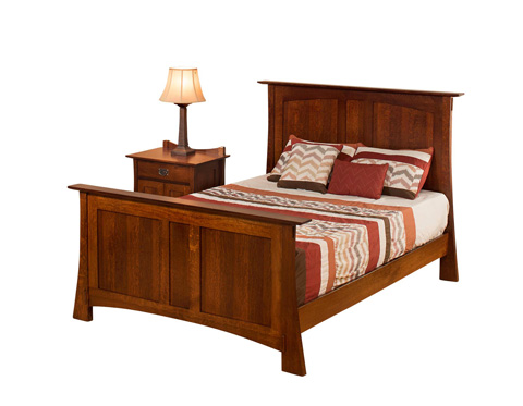 Borkholder Furniture - Highland Panel Bed in King - 21-1501KXX
