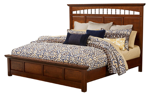 Image of Arroyo Seco Panel Bed in King