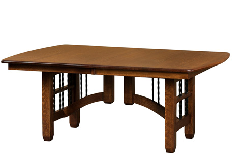 Borkholder Furniture - Arroyo Seco Dining Table - 37-8001LF2