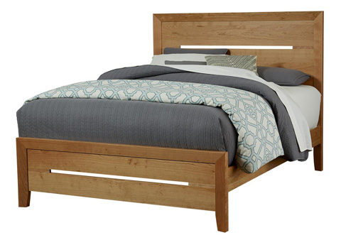 Image of Transitions Panel Bed in King