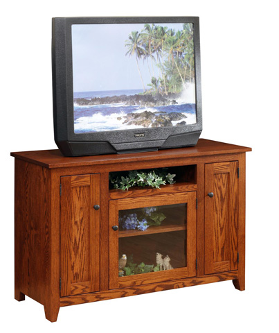 Image of Modern Mission TV Stand