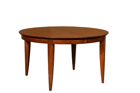 Image of Heritage Solid Top Round Dining Table