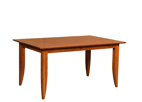Borkholder Furniture - Towne Square Solid Top Dining Table - 16-8034STX