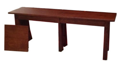 Image of Highland Solid Top Bench