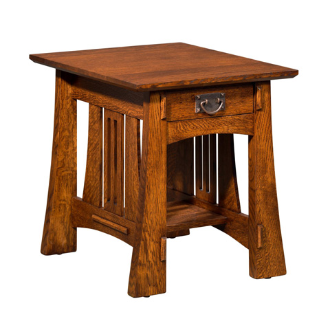 Image of Highland End Table with Drawer