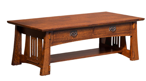Image of Highland Coffee Table with Drawer