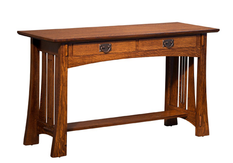 Image of Highland Sofa Table with Drawer