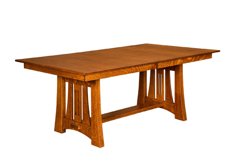 Image of Highland Solid Top Dining Table