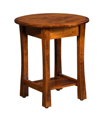 Image of Tyron Round End Table