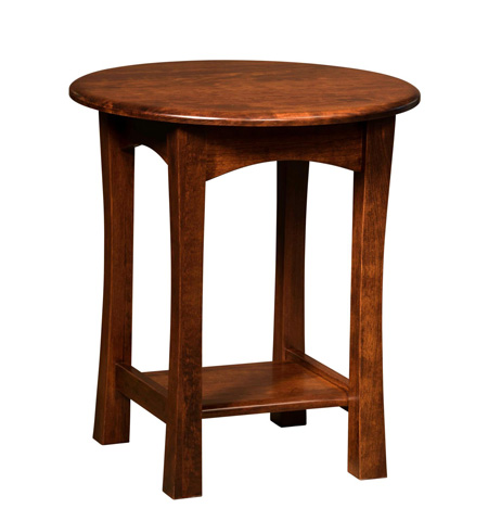 Image of Greenfield Round End Table