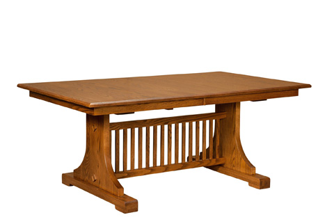 Image of Mission Churchill Solid Top Dining Table