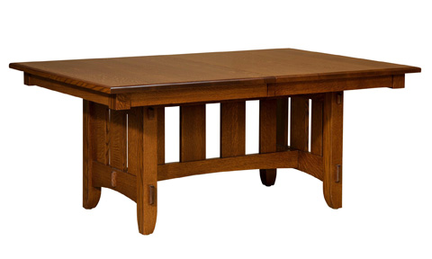 Borkholder Furniture - Teton Solid Top Dining Table - NC-8021STX