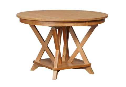 Image of Transitions Solid Top Dining Table
