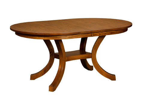 Image of Carlisle Shaker Solid Top Dining Table