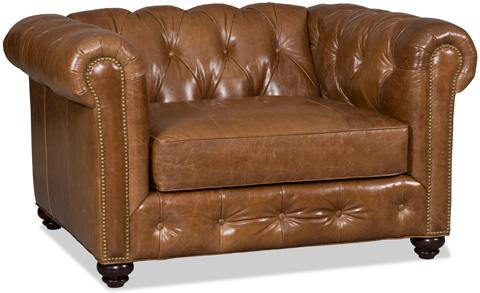 Bradington Young - Wellington Stationary Chair and a Half - 698-45