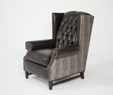 Image of Zadie Leather Chair