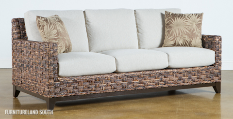 Image of Abaca Living Room Set with Cushions