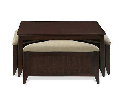 Braxton Culler - Cocktail Table with Bench - 947-055
