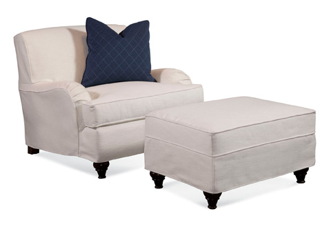 Braxton Culler - Chair with Slipcover - 712-001XP