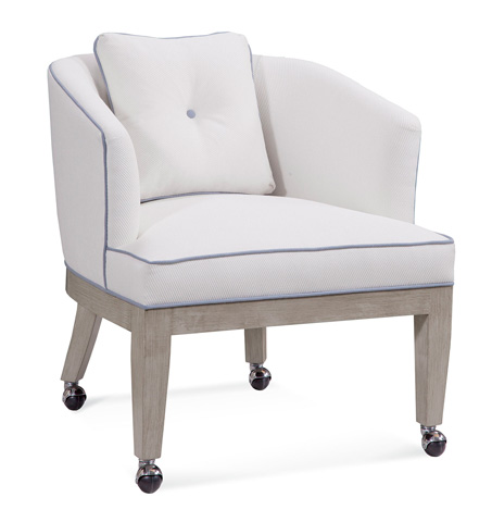Braxton Culler - Dining Chair with Castors - 5013-001CR