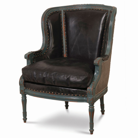 Image of French Wing Chair