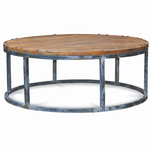 Urban Medium Round Coffee Table 25794 The Bramble Company Occasional Tables From