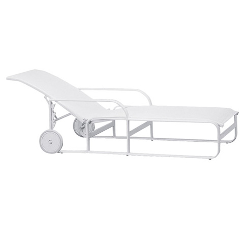 Brown Jordan - Adjustable Chaise with Wheels - 1590-7800