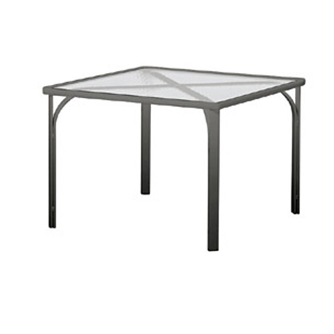 Brown Jordan - Square Dining Table with Lock Top - 1591-3636