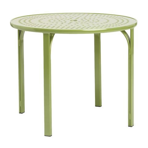 Brown Jordan - Round Umbrella Table with Lock Top - 1592-4800-AT