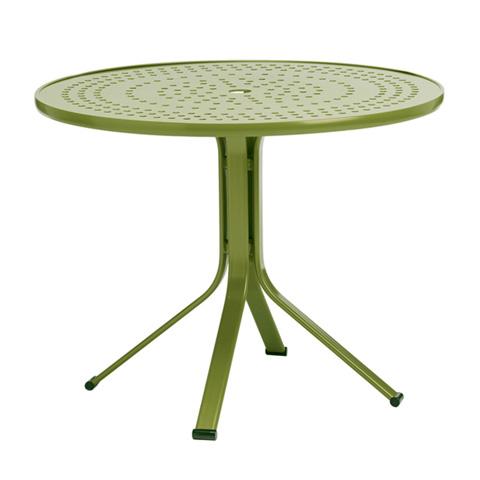 Brown Jordan - Round Pedestal Umbrella Table with Lock Top - 1666-3600-AT