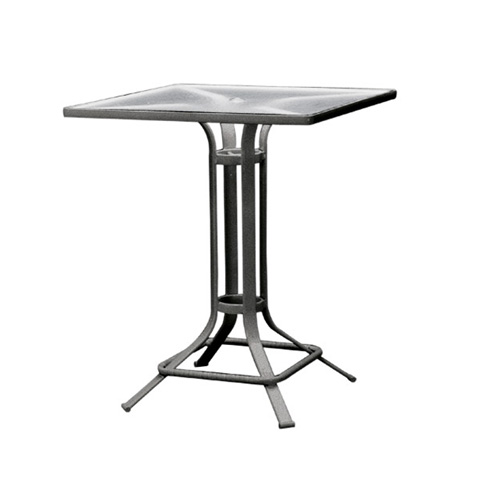 Brown Jordan - Square Pedestal Bar Table with Lock Top - 1667-3232