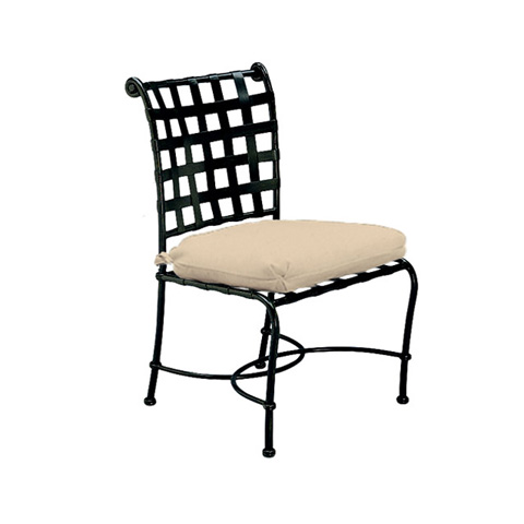 Brown Jordan - Side Chair with Cushion - 2240-1000