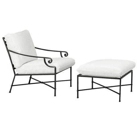 Brown Jordan - Lounge Chair with Cushion - 2250-6000