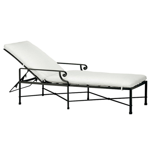 Brown Jordan - Adjustable Chaise with Cushion - 2250-7000