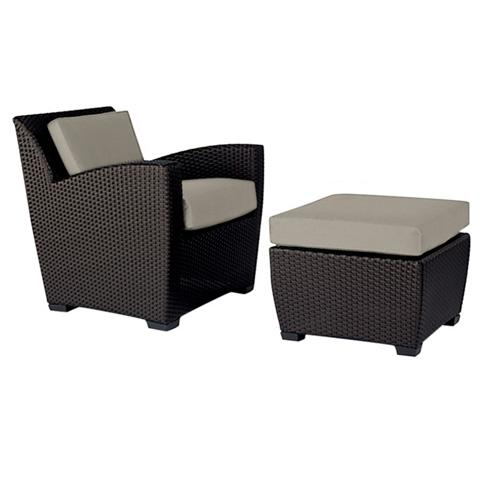 Brown Jordan - Lounge Chair with Cushion - 2860-6000