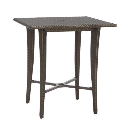 Brown Jordan - Square Umbrella Bar Table - 2868-3636
