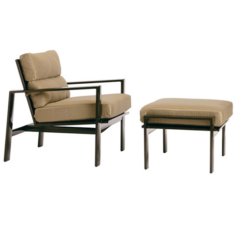Brown Jordan - Lounge Chair with Loose Cushions - 3470-6000