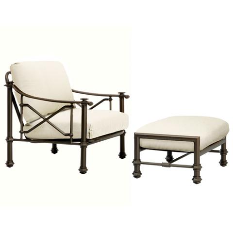 Brown Jordan - Lounge Chair with Loose Cushions - 3590-6000