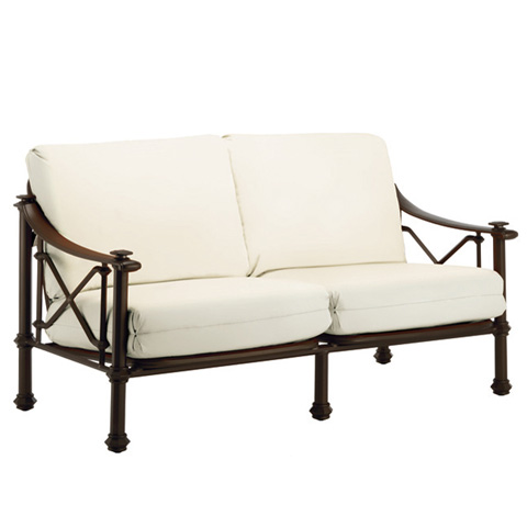 Brown Jordan - Loveseat with Loose Cushions - 3590-6200