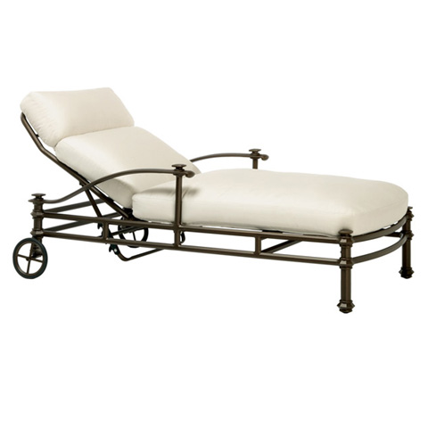 Brown Jordan - Adjustable Chaise with Loose Cushion - 3590-7000