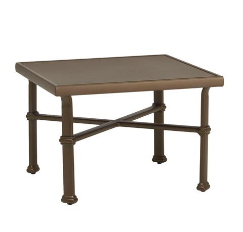 Brown Jordan - Square Occasional Table with Aluminum Top - 4323-2626-AT