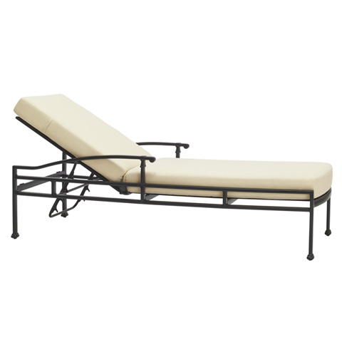 Brown Jordan - Adjustable Chaise with Loose Cushions - 4340-7000