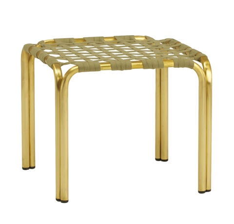 Brown Jordan - Suncloth Strap Occasional Table - 4393-1818