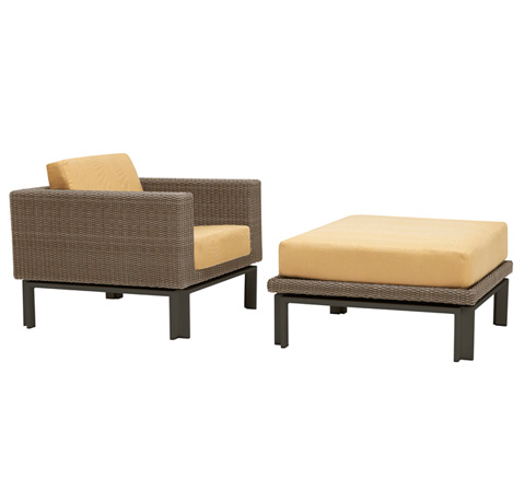 Image of Lounge Chair with Loose Cushions