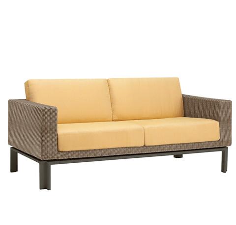 Brown Jordan - Loveseat with Loose Cushions - 5060-6200