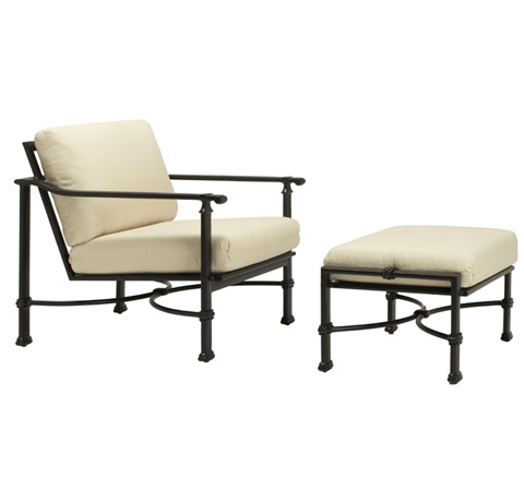 Brown Jordan - Fremont Cushion Ottoman - 4340-6100