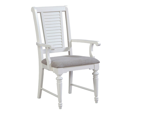 Image of Arm Chair with Upholstered Seat
