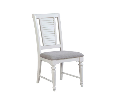 Image of Side Chair with Upholstered Seat