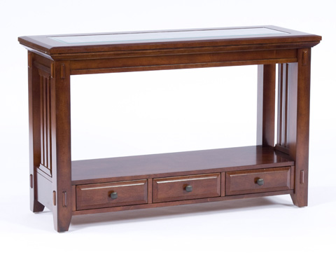 Broyhill Furniture - Sofa Table with Base Drawers - 4986-009